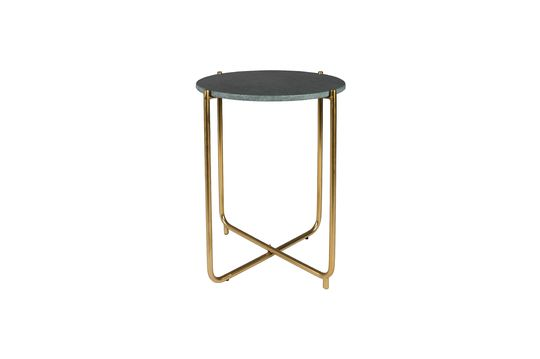 Timpa green marble side table Clipped