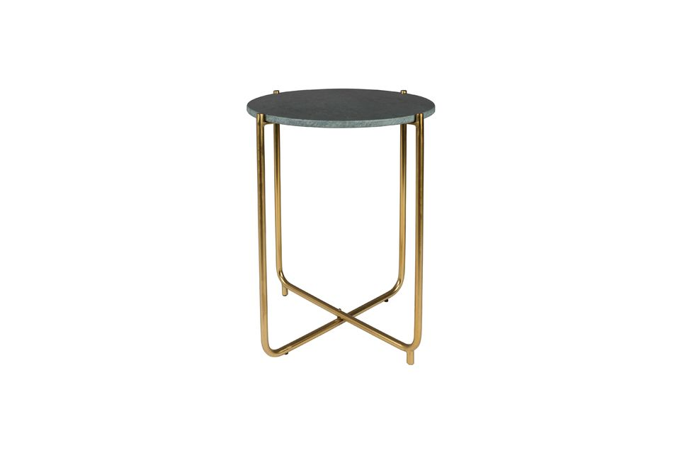 Timpa green marble side table - 8