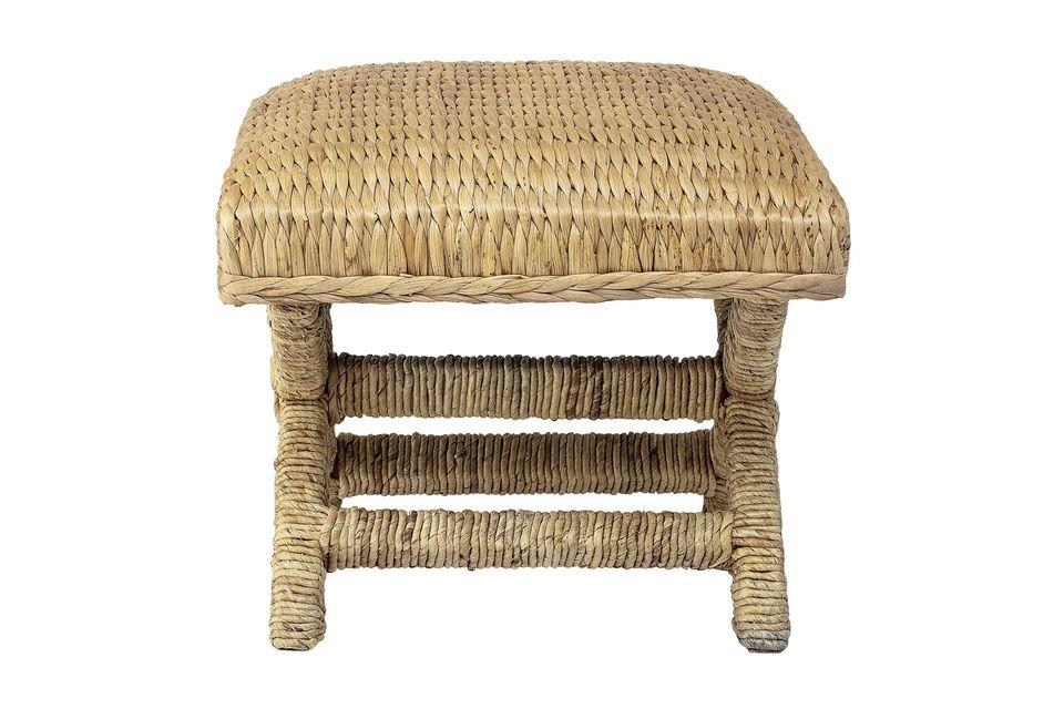 Ecological beige stool