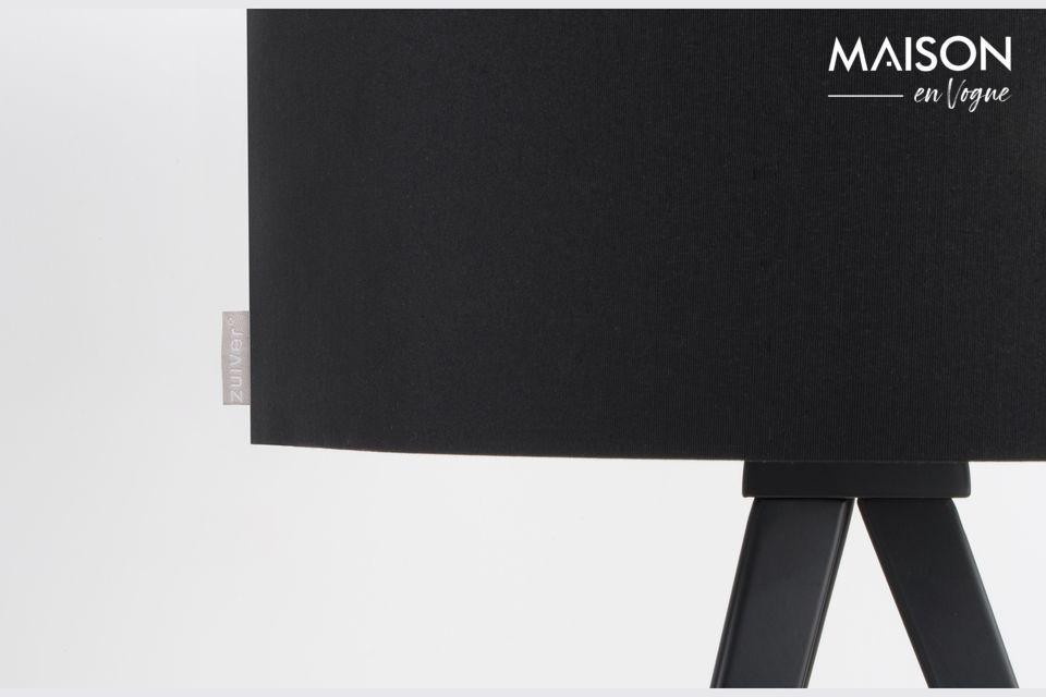Tripod Black Table Lamp - 3