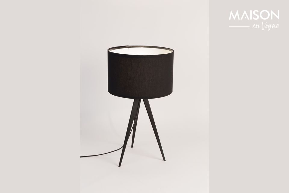 Tripod Black Table Lamp - 4