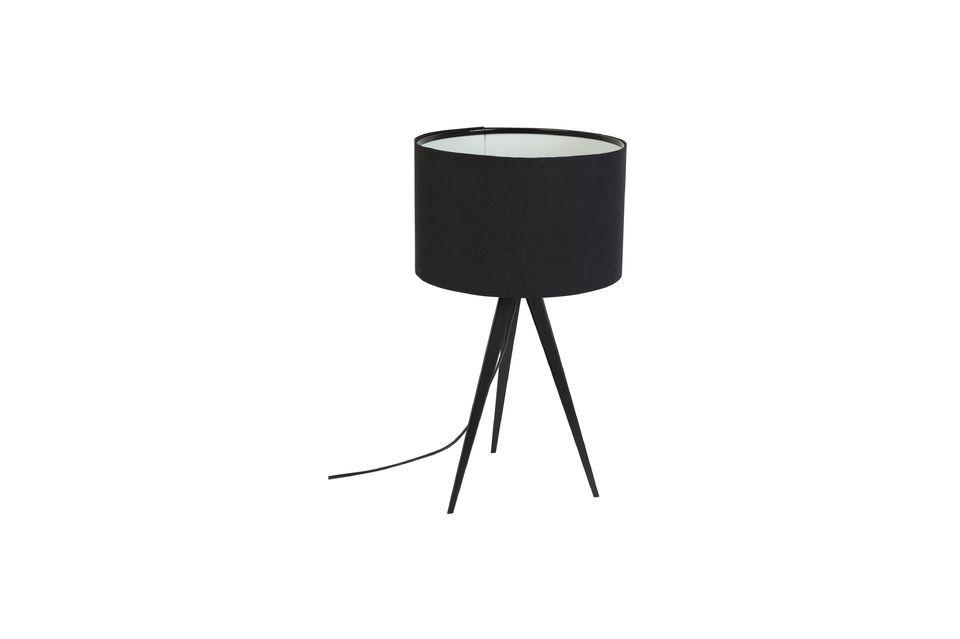 Tripod Black Table Lamp - 5