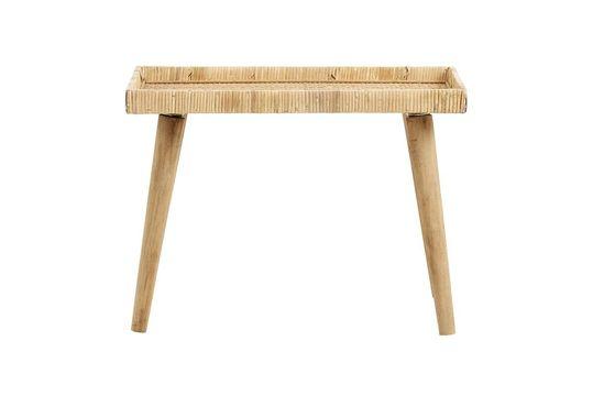 Turn rattan table