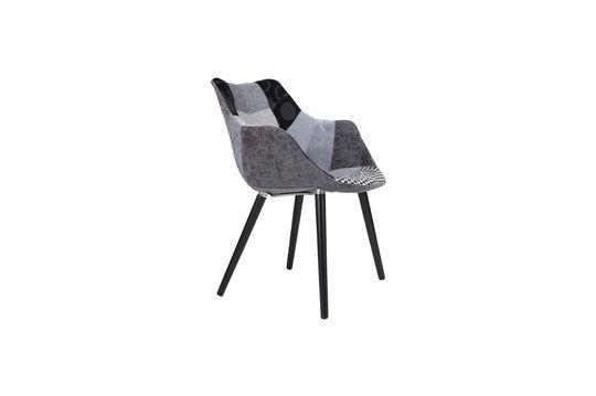 Twelve Grey Patchwork armchair