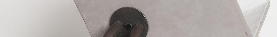 Material Details Up Concrete Lamp