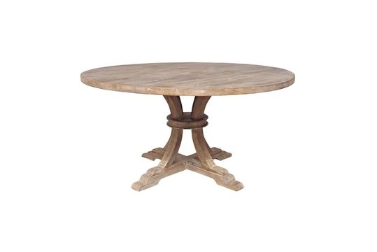 Valbelle Round table in wood