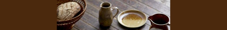 Material Details Villemer stoneware pitcher