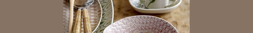 Material Details Viola serving plate