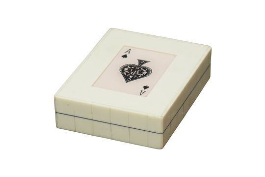 White box 2 decks of Ace of spades cards