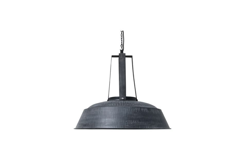Workshop XL rustic black matt lamp HK Living