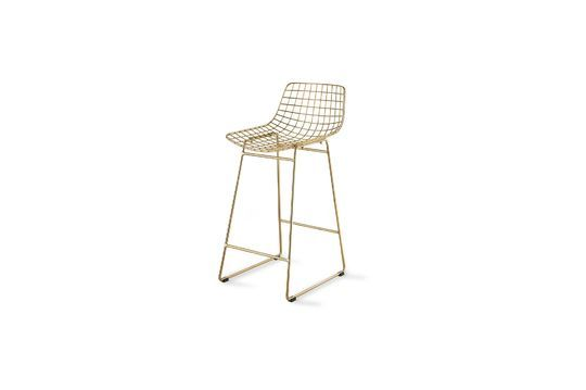Wuisse wire bar stool Clipped